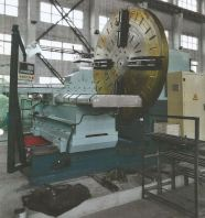 CHINA QINGDAO KUNXIN FACE LATHE MACHINE