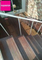 Tigerstep (Solid Wood Staircase Board) (After Installation)