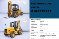 Rough Terrain Forklift Johor For Sale