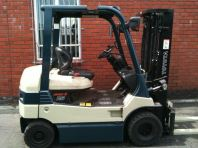 Toyota Battery Forklift 7FB25