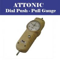 ATTONIC -DIAL PUSH PULL GAUGE