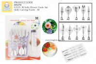 3D Jelly Flower Tools Set - M