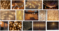 TWINKLE BRAND DECORATION LED LIGHT CHRISTMAS