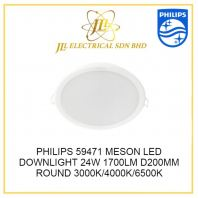 PHILIPS 59471 D200 MESON 24W LED DOWNLIGHT  WARM WHITE 3000K 1700lm