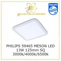 PHILIPS 59465 L125MM MESON LED DOWNLIGHT 13W/1000lm WARM WHITE 3000K SQUARE