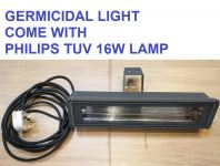 GERMICIDAL FITTING DIECAST ALUMINIUM COME WITH PHILIPS TUV LAMP 16W WALL TYPE