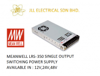 MEANWELL LRS-350 12V 29AMP SINGLE OUTPUT SWITCHING POWER SUPPLY