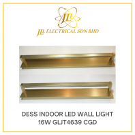 DESS GLJT4639-16W CHAMPAGNE GOLD LED INDOOR WALL LIGHT