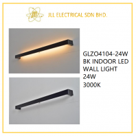 DESS GLZO4104-24W BK INDOOR LED WALL LIGHT 24W 3000K