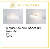 DESS GLZO4001 SWH INDOOR LED WALL LIGHT 9W 3000K