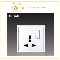 Simon Switch  i7 701089-30 13A Universal Switch Socket Outlet  Matt White