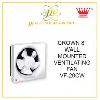 "CROWN 8"" WALL MOUNTED VENTILATING FAN VF-20CW"