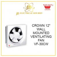 "CROWN 12"" WALL MOUNTED VENTILATING FAN VF-30CW"