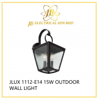 JLUX 1112-E14 15W OUTDOOR WALL LIGHT