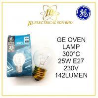 GE OVEN LAMP 300��C 25W E27 230V 142LUMEN
