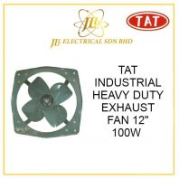 "TAT 12"" INDUSTRIAL HEAVY DUTY EXHAUST FAN 100W"
