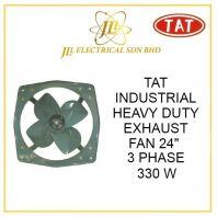 """TAT 24"""" INDUSTRIAL HEAVY DUTY EXHAUST FAN 330W 3 PHASE"""