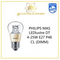PHILIPS MAS LEDlustre DT 4-25W E27 P48 CL (DIMM)
