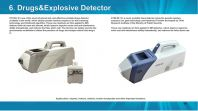 Explosive and Drugs Detector