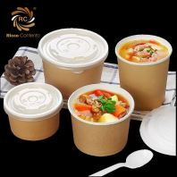 Kraft Paper Food Packaging (Bowl)