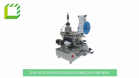 Semi Automatic Hexagon/Square Bottle Labelling Machine (China)