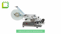 Semi Auto Desktop Wraparound Labelling Machine (China)