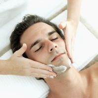 Man Facial Treatment