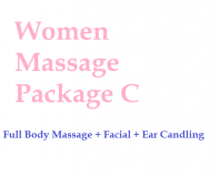 Women Massage Package C