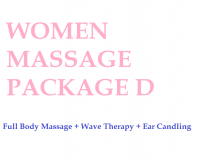 Women Massage Package D