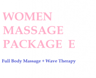 Women Massage Package E