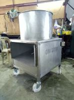 Durian meat extractor machine