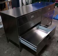 Sus 304, 100% pull out drawer with soft close