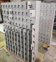 100 compartment phone locker