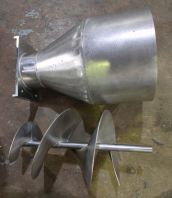 Stainless steel sprial pot