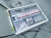 Mild steel switch box