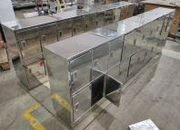 Stainless Steel 304 BA Clean Room bottle rack