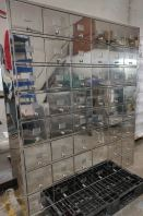 Stainless steel 304 BA shoe cabinet