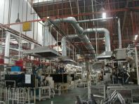 Industrial Ventilation & Direct Exhaust System
