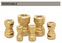 """ZoomLock Push Removable Couplings (3/4"""")"""