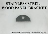 STAINLESS STEEL WOOD PANEL BRACKET