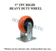 "5"" TPU RIGID HEAVY DUTY WHEEL"