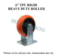 "6"" TPU RIGID HEAVY DUTY WHEEL"