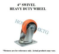 "4"" TPU SWIVEL HEAVY DUTY WHEEL"