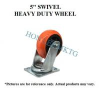"5"" TPU SWIVEL HEAVY DUTY WHEEL"