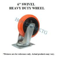 "6"" TPU SWIVEL HEAVY DUTY WHEEL"