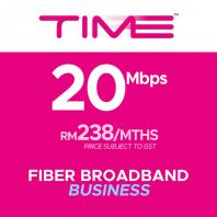 TIME FIBER BUSINESS 20Mbps