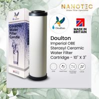 "Doulton Imperial OBE Sterasyl Ceramic Water Filter Cartridge - 10"" X 3"""
