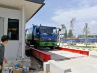 Electronic Weighbridge With Barrier Control