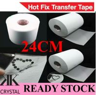 Hotfix Sticker/ Hotfix Rhinestones Transfer Tape, 24cmx2meter