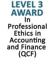 In Professional Ethics in ACCounting Finance (QCF)